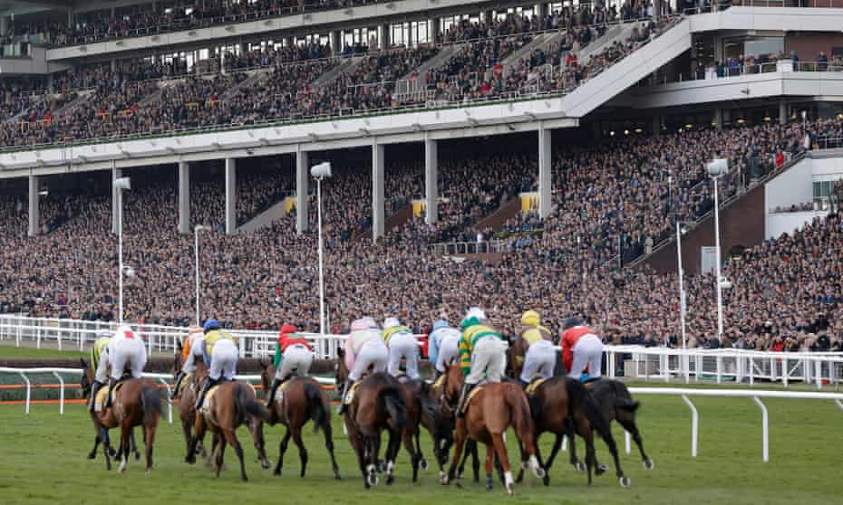The opening race of day four of the Cheltenham Festival on Friday 13 March 2020