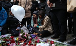 People in Vancouver, Canada, mourn for victims of the Iran plane crash