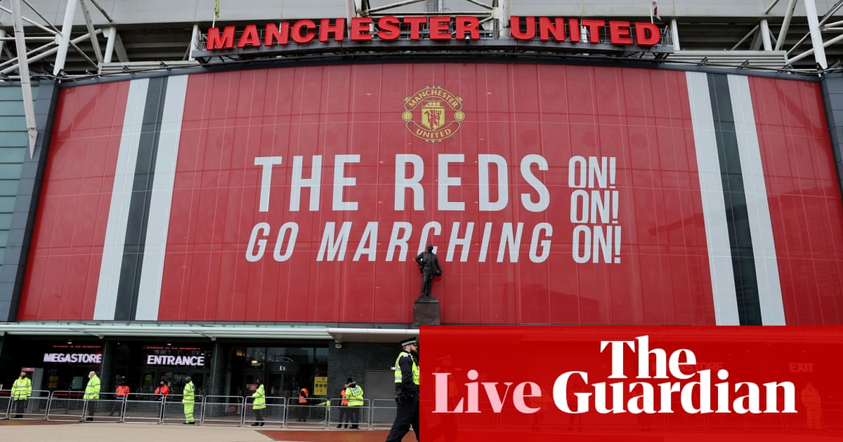 Manchester United v Leicester City: Premier League – live! - the guardian