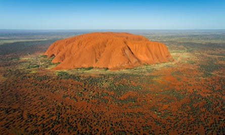 Uluru will be one of the landmarks passengers will be able to view on Qantas' sightseeing flight.