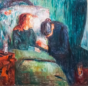 The Sick Child, 1907, by Edvard Munch.