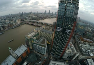 South Bank Tower drone still