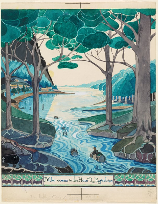 How Tolkien created Middle-earth | Books | The Guardian