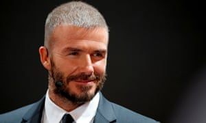David Beckham received six points to add to the six he already had.