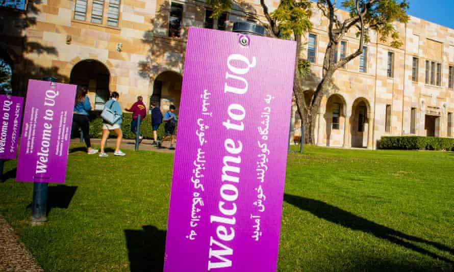 Record international student enrolments at UQ for 2021 as ...