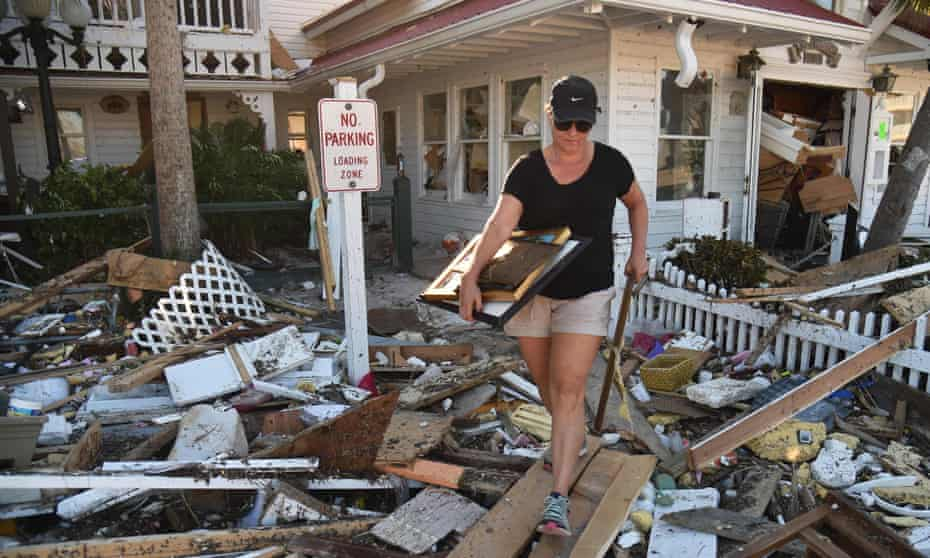 The landscape of the cities hardest hit by Hurricane Michael looks little different than it did immediately after the storm.