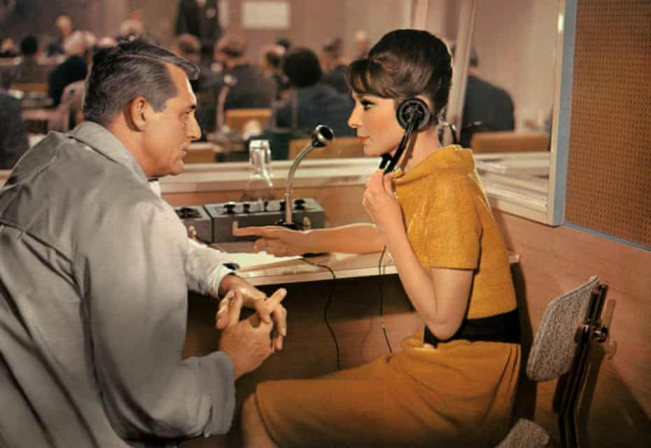 Cary Grant and Audrey Hepburn in Charade (1963)