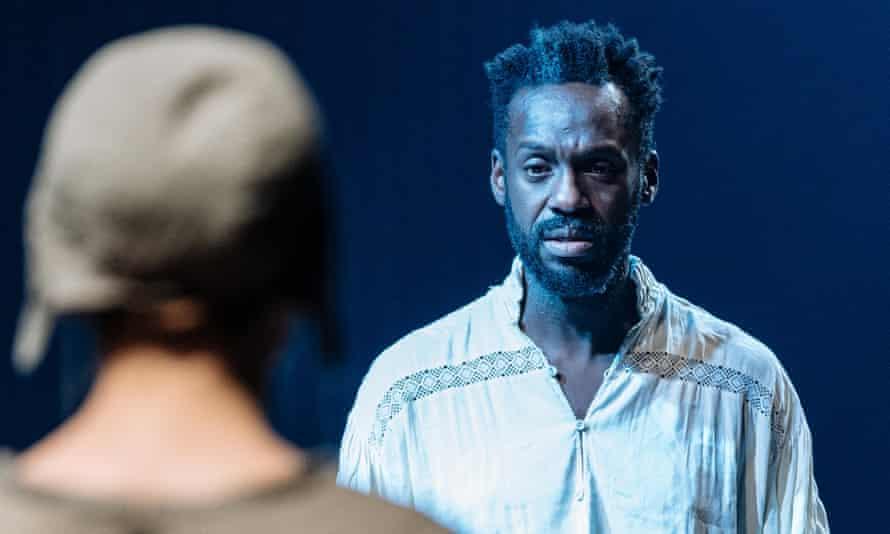 Doomed … Sule Rimi as Claudio in Measure for Measure.