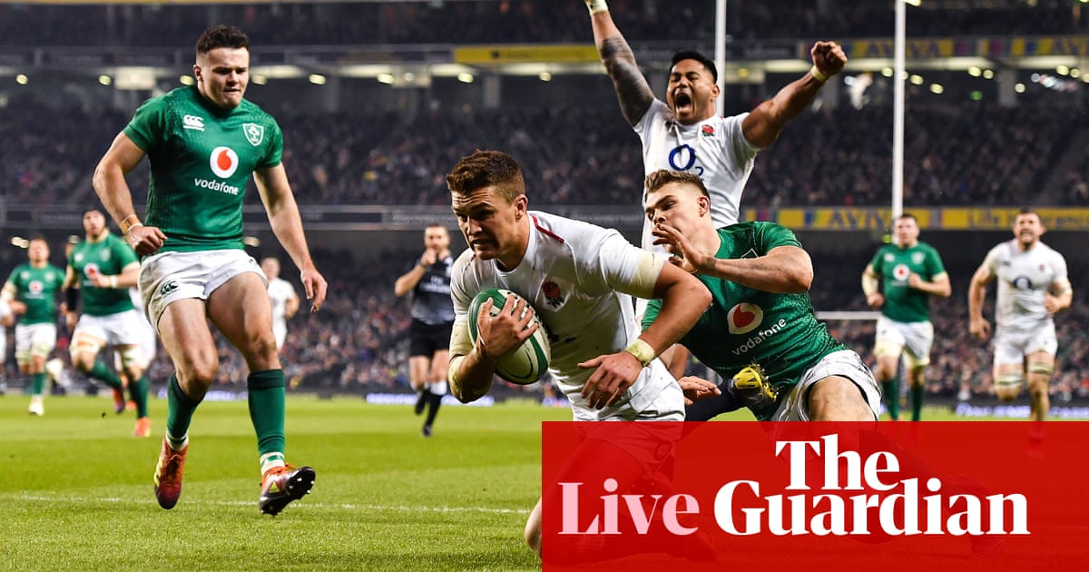 fafb63541194 Ireland 20-32 England  Six Nations 2019 – as it happened