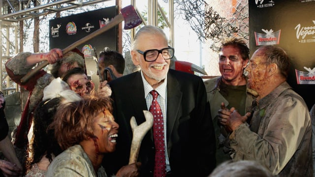 George A Romero, Night of the Living Dead director, dies aged 77 ...