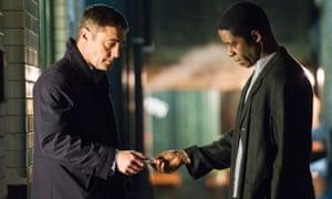 Police officer John Carter (Vincent Regan) is given evidence secured by undercover officer Nick Johnson (Adrian Lester)
