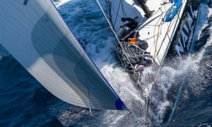 Photographer Andrea Francolini snaps the Sydney to Hobart