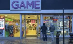A Game shop