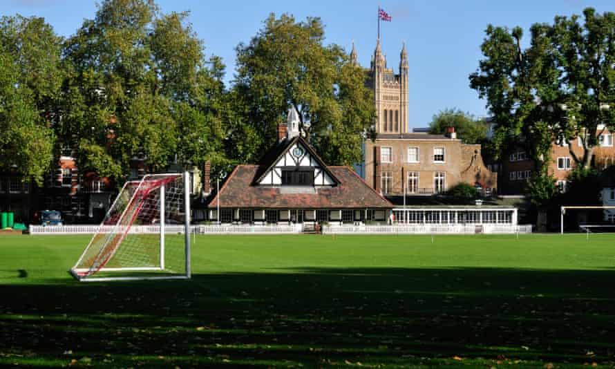 Westminster school sports fields, Vincent square Pimlico London United Kingdom