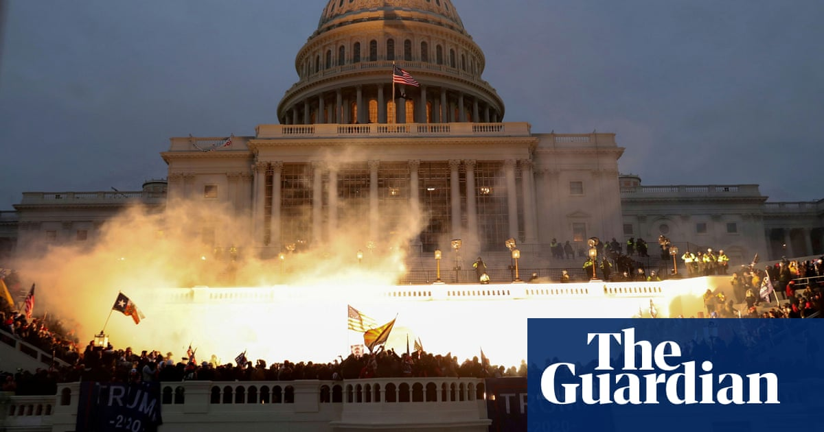 'We dodged a mortar round': George Packer on America in crisis