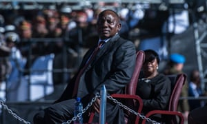 South Africa's president, Cyril Ramaphosa, wants citizens to get involved in local activism.