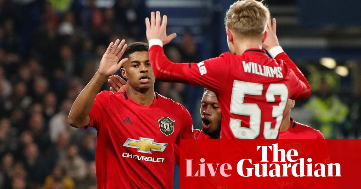 Chelsea v Manchester United: Carabao Cup fourth round – live!