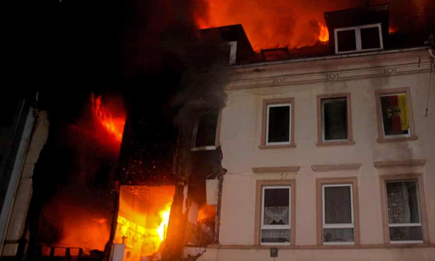 The explosion in Wuppertal injured 25 people.