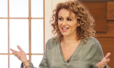 Nadia Sawalha, bladder incontinence sufferer