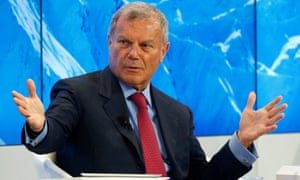 Martin Sorrell has been the chief executive of WPP for three decades.