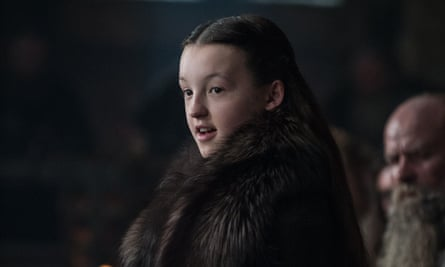 Increasingly dominated by strong female characters … Bella Ramsey as Lyanna Mormont in Game of Thrones.