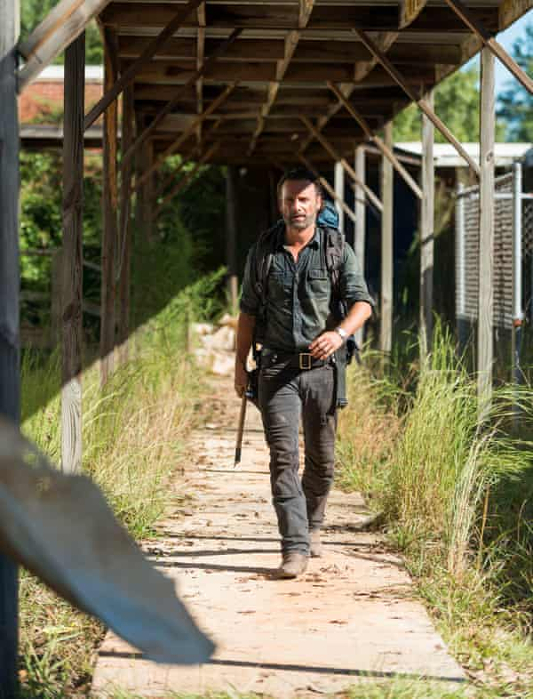 Is Rick about to become zombie food? Good grief no – aren't you familiar with classic Walking Dead misdirection?