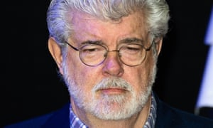 """""""Star Wars: The Force Awakens"""" - European Film Premiere - Red Carpet Arrivals LONDON, ENGLAND - DECEMBER 16: George Lucas attends the European premiere of """"Star Wars: The Force Awakens"""" at Leicester Square on December 16, 2015 in London, England. (Photo by Jeff Spicer/Getty Images)"""