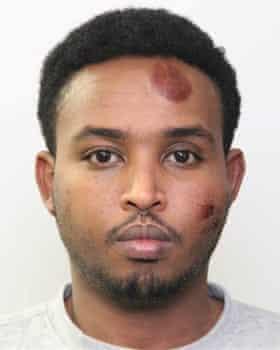 Abdulahi Hasan Sharif in a police booking photo on 2 October 2017.