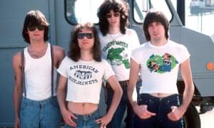 The Ramones in August 1976
