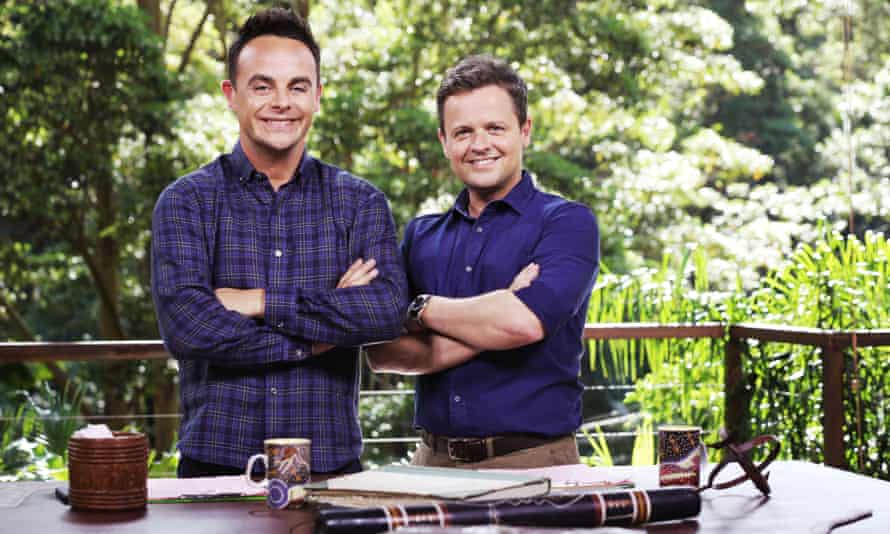 Ant & Dec always win best TV presenter.
