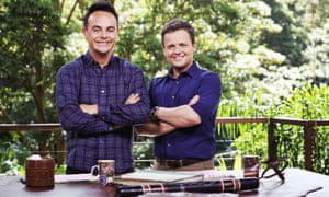 Ant McPartlin and Declan Donnelly in I'm A Celebrity ... Get Me Out of Here!