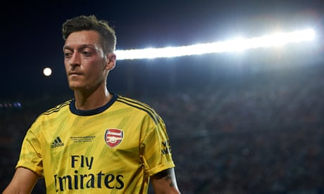 Mesut Özil: the galáctico who became symbolic of Arsenal's decline