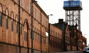 The Dalzell steelworks in Motherwell, Scotland