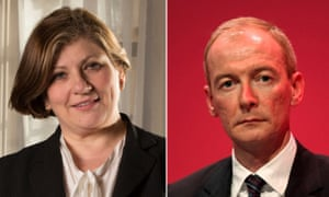 In and out: Emily Thornberry and Pat McFadden.