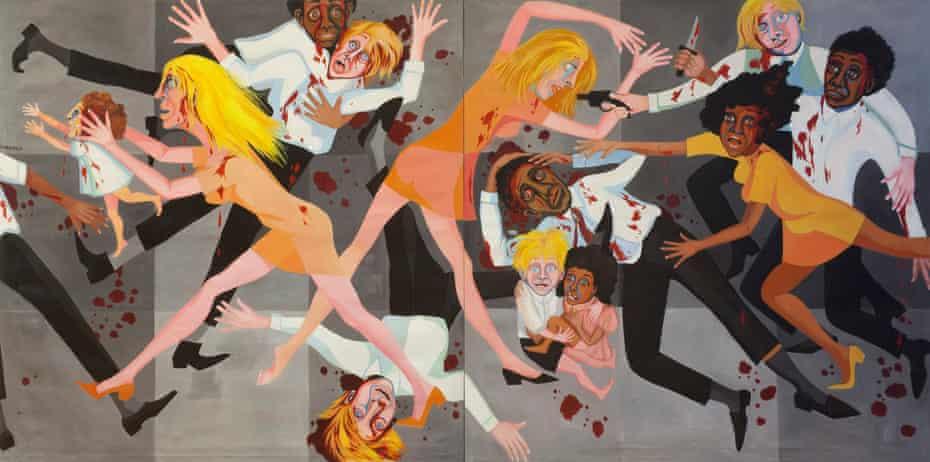 Die: American People Series #20 (1967) by Faith Ringgold.