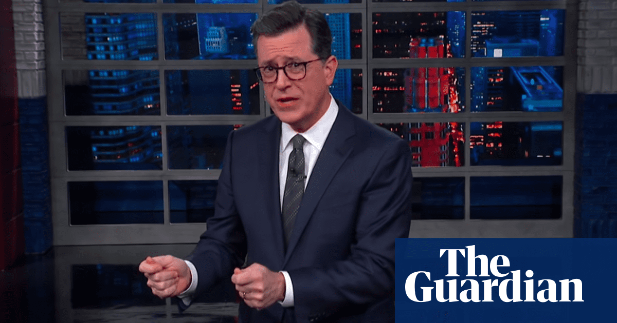 Stephen Colbert: 'Americans have lost track of how unusual Trump's behavior is'