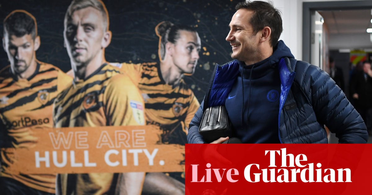 Hull City v Chelsea: FA Cup fourth round – live!