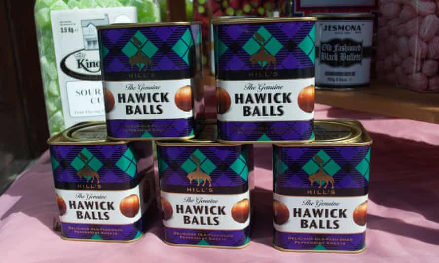 Hawick Balls, boiled sweets from the Scottish Borders.