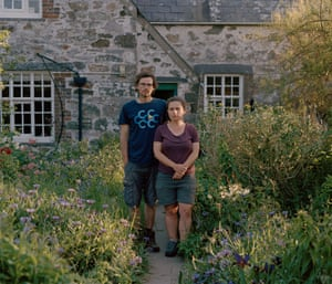 Siân Stacey, who was the island manager of Bardsey for three years, met her partner, Mark Carter, during a volunteering break.