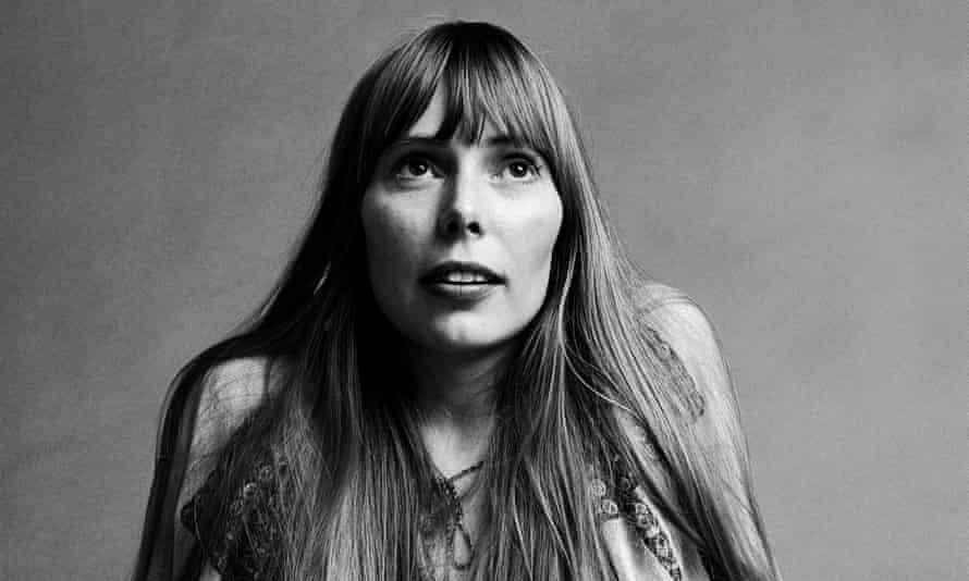 Joni Mitchell in 1968.
