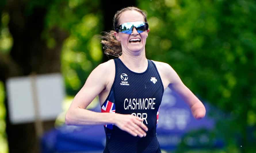 Claire Cashmore has switched from swimming to triathlon.
