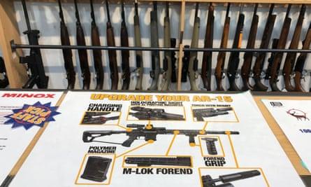 Gun City in Christchurch, where the alleged shooter bought four guns
