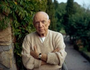 Pablo Picasso, Mougins, France, 1966