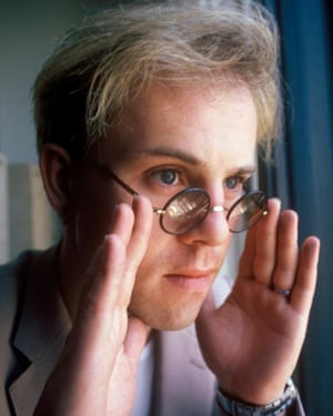 Thomas Dolby in the 80s.