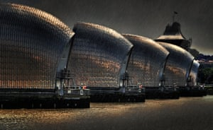 Barrier Rainstorm by Brian Denton
