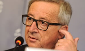Time for him to go: European commission president, Jean-Claude Juncker.