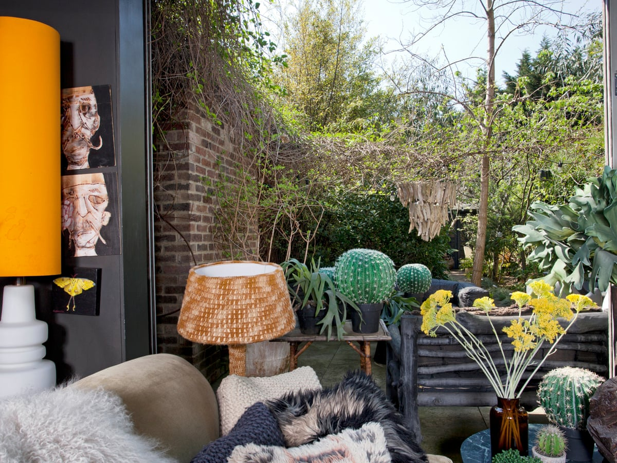 Interior Designer Abigail Ahern S Garden Style Fireplaces And Chandeliers Gardens The Guardian