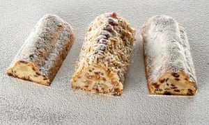 Stollen, Germany's Christmas cake.