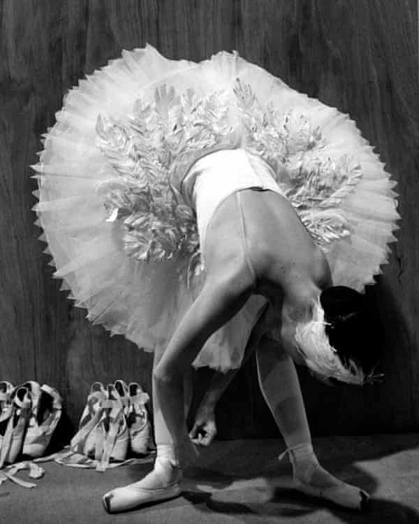 A dancer from English National Ballet, 1999.