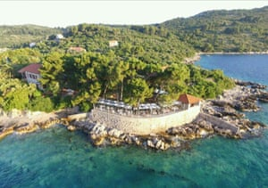 Villa Ruža, near Dubrovnik, Croatia